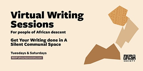 Virtual Writing Sessions for People of African Descent tickets