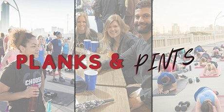 Planks & Pints with Camp Gladiator & Pontoon Brewing tickets