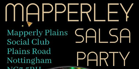 Mapperley Salsa  Party tickets