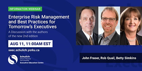 Enterprise Risk Management: Today's Leading Research and Best Practices tickets