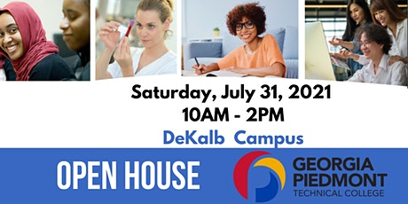 2021 Summer College Open House - Georgia Piedmont Technical College tickets