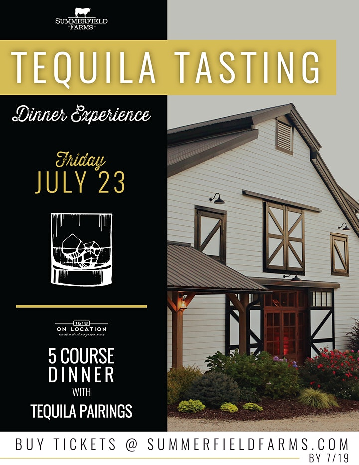 Tequila Tasting Dinner Experience image