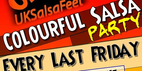 Colourful Salsa Party tickets