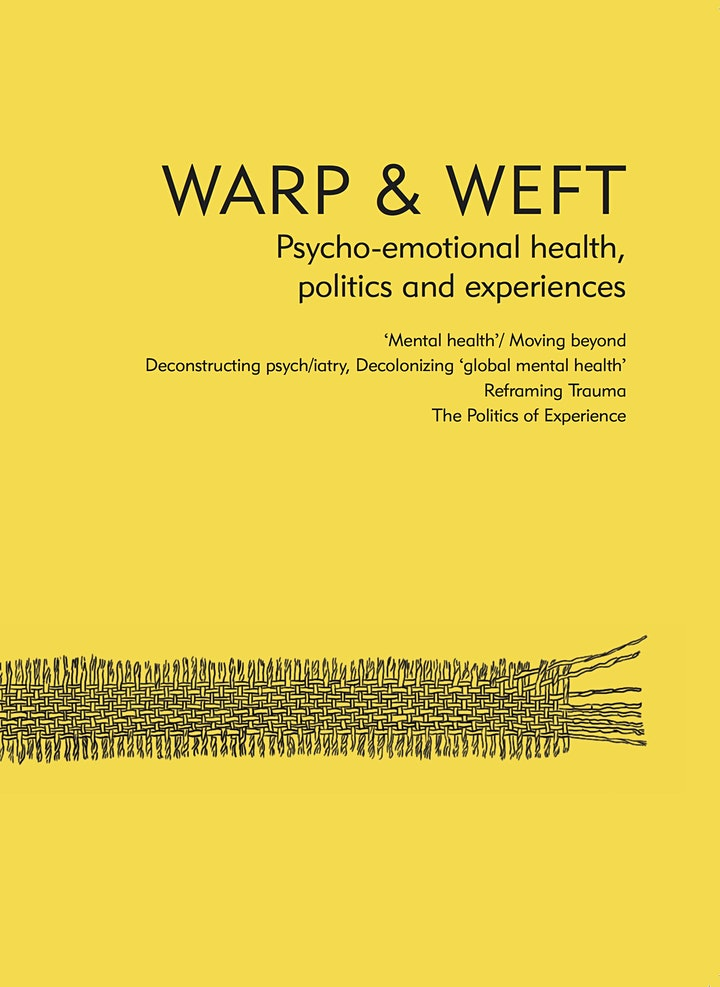 Book Launch: Warp & Weft: Psycho-emotional health, politics and experiences image