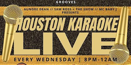 HOUSTON KARAOKE LIVE! tickets