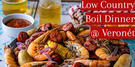 Low Country Boil Dinner + Live Music! tickets