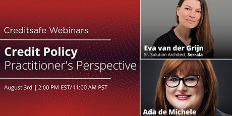 Webinar: Credit Policy Practitioner's Perspective tickets