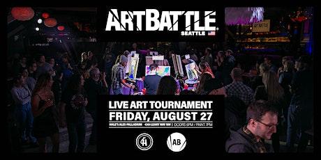 Art Battle Seattle  - August 27, 2021 tickets