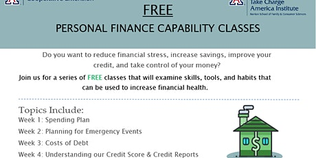 Financial Literacy-Building Personal Financial Stability tickets