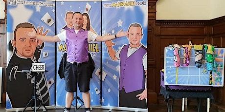 Mark Daniels' magic shows at Bolton Museum tickets