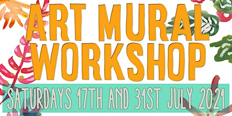 CREATE & PAINT A WILDFLOWER & FUNGI MURAL WORKSHOPS tickets
