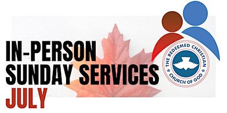 2nd Service - Sunday Services - July 2021 tickets