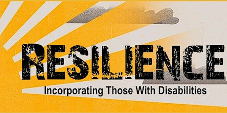 Resilience - Incorporating Those with Disabilities tickets