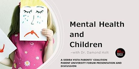Mental Health and Children tickets