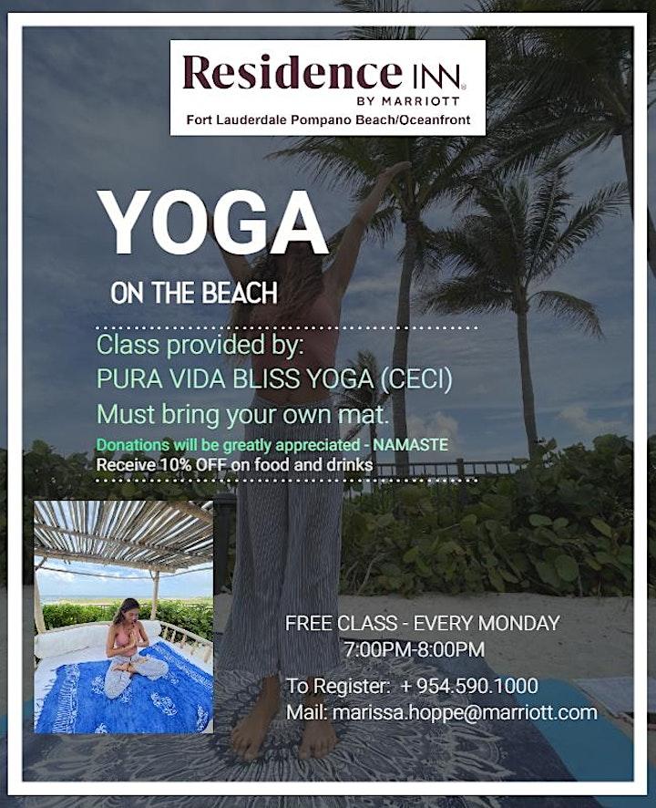 YOGA ON THE BEACH image