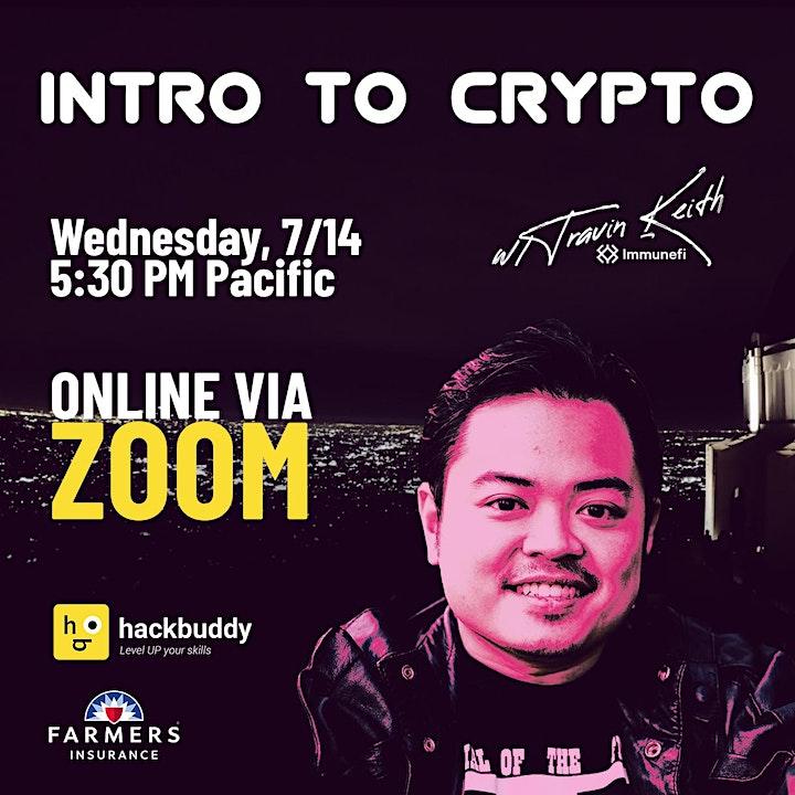 Intro to Crypto w/Travin Keith image