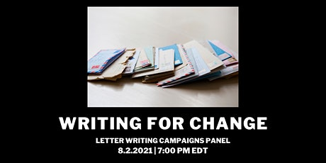 Writing for Change tickets