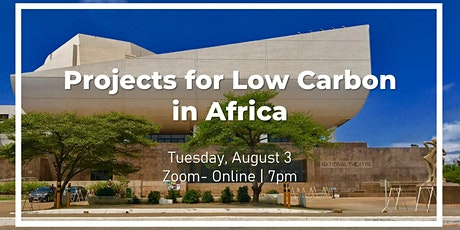 Projects for Low Carbon in Africa tickets