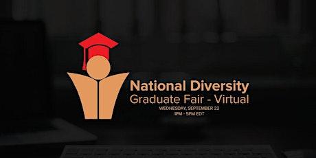 2021 National Diversity Graduate Fair - Virtual tickets