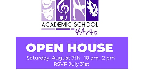 Academic School 4 Arts Open House tickets