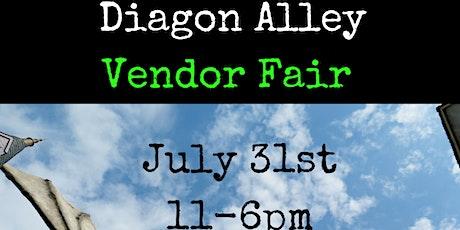 Diagon Alley Vendor Fair tickets