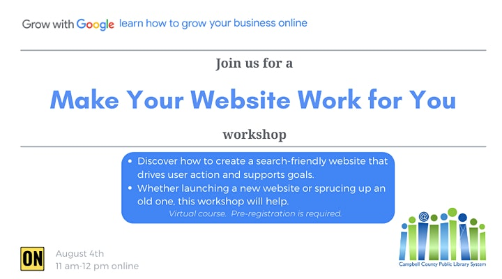 Make Your Website Work for You image