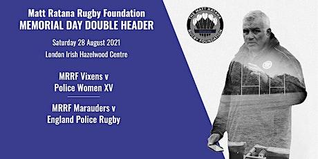 The Matt Ratana Rugby Foundation Memorial Day tickets