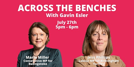 Across the Benches with Gavin Esler: Jess Phillips and Maria Miller tickets