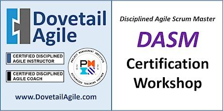 DASM - Disciplined Agile Scrum Master tickets