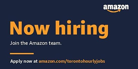 Amazon:  Launch Hiring Information Session tickets