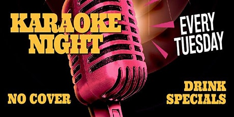 Tuesday Karaoke Night with DJ Chris at The Revel Patio Grill tickets