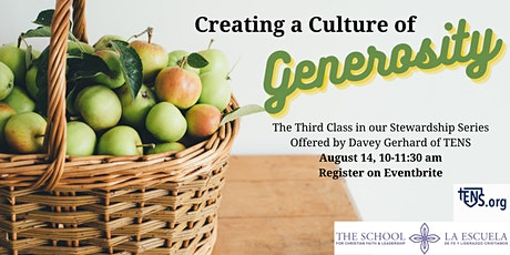Creating a Culture of Generosity tickets