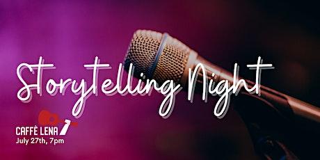 Storytelling Night Live Stream tickets