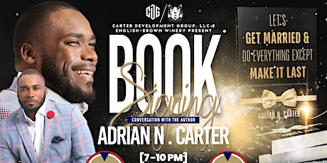 Book Signing & Conversation with Author Adrian N. Carter tickets