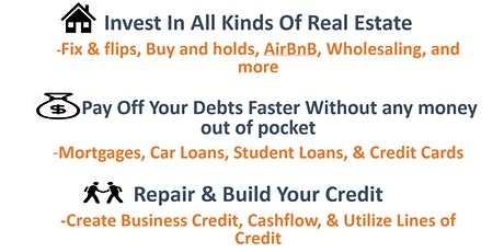 Introduction to Wealth through Real Estate Investing - Live On Zoom tickets