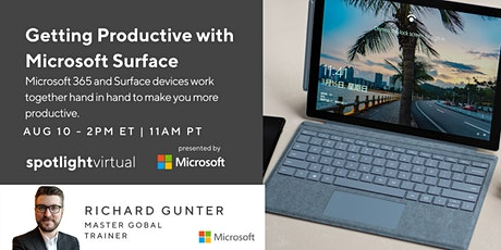 Getting Productive with Microsoft Surface tickets