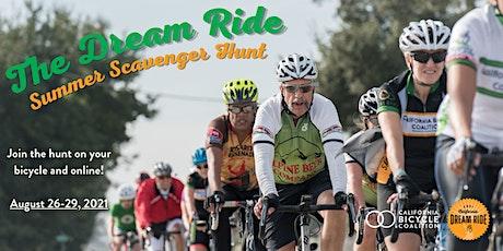 CalBike's Dream Ride Summer Scavenger Hunt tickets
