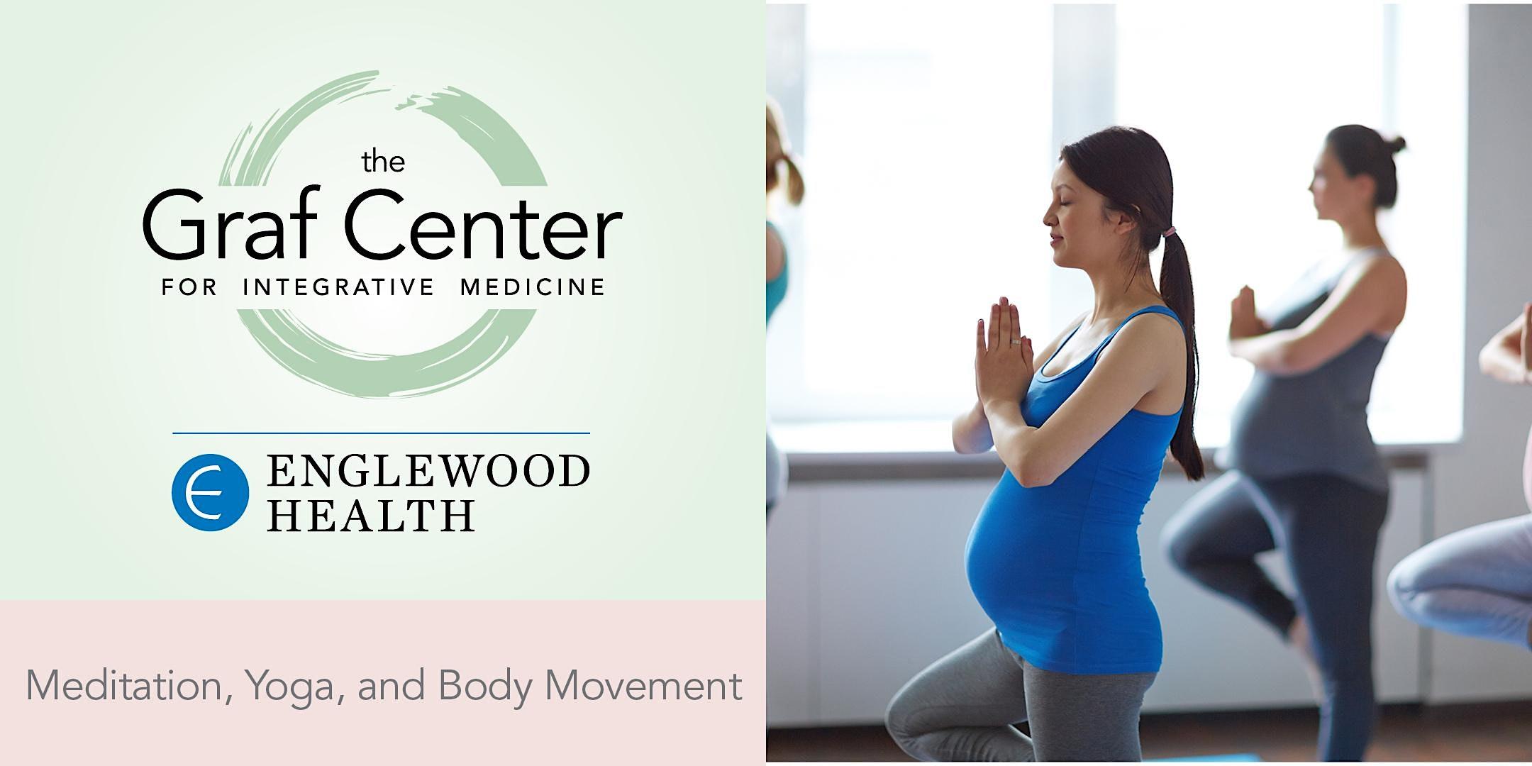 More info: Prenatal Yoga and Meditation (8-week series) - Beginning September 2021