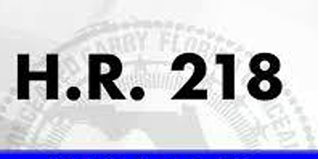 HR 218 LAW ENFORCEMENT YEARLY CERTIFICATION tickets