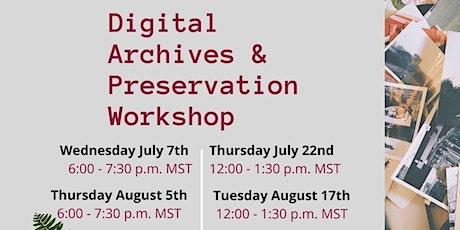 Digital Archives & Preservation tickets