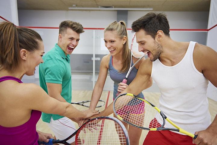FREE Adult Squash Community Event image