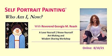 Self Portrait Painting (online) biglietti