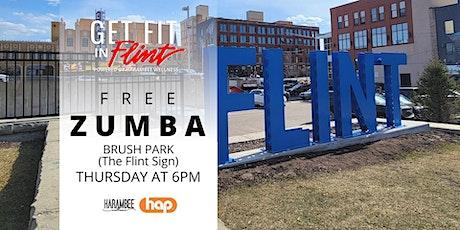 Get Fit in Flint - Free Zumba tickets