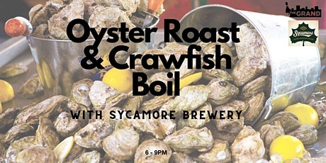 Oyster Roast &  Crawfish Boil with Sycamore Brewery tickets