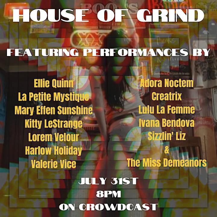 Creatrix Presents! : House of Grind image