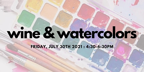 Wine & Watercolors at Shop Made in DC tickets