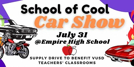 SCHOOL OF COOL CAR SHOW tickets