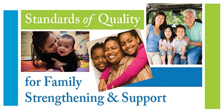 Standards of Quality for Family Strengthening  Certification Training tickets