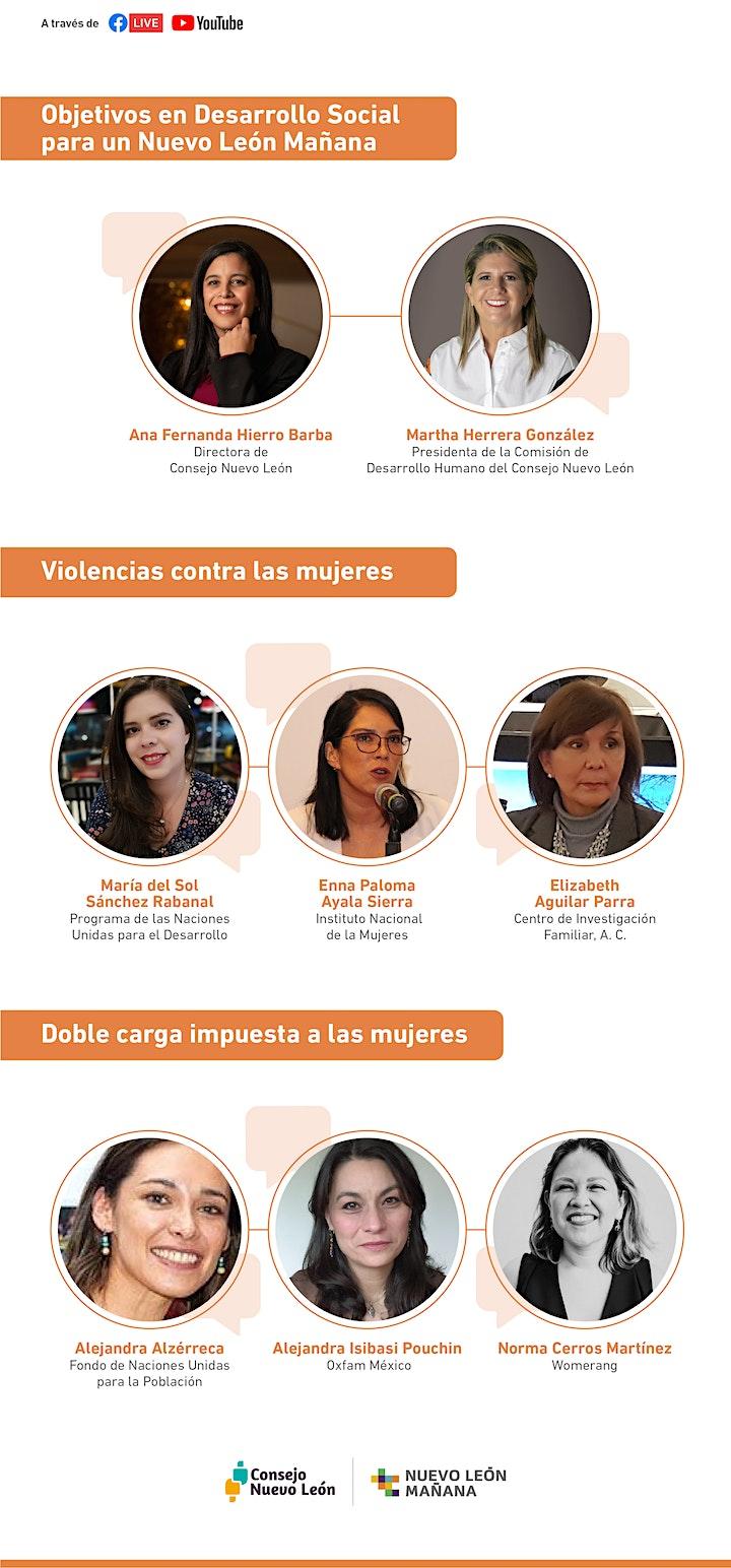 Imagen de Foros Nuevo León Mañana: D. Social -Violencias contra mujeres y doble carga