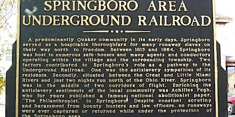 Underground Railroad Tours tickets